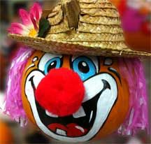 german composition clown jack o lantern boo pinterest