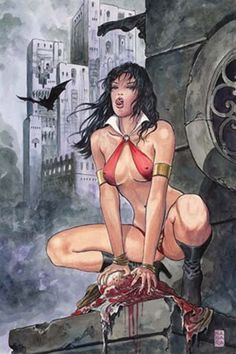 Milo Manara - Vampirella