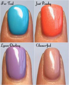 I love the just peachy🍑🍑 Shellac Nail Art, Glitter Gel Nails, Gel Nail Polish, Diy Nails, Gel Polish Designs, Gel Polish Colors, Swatch, Gel Nails French, Nails Now