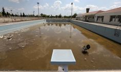 Athens Olympics venues 10 years on...