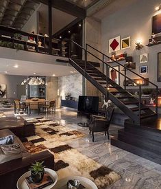 Beautiful interior house design #tcluxury Tag who'd live here!