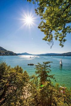 Spend your summer at Lake Woerthersee in Carinthia, Austria #austria #carinthia #lake #woerthersee #water #summer #sun