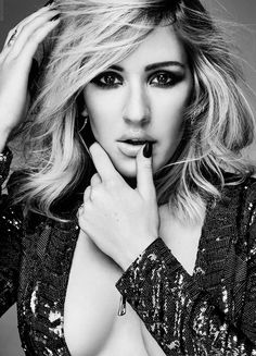 Ellie Goulding for Glamour UK