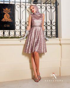 Vestidos de Fiesta, Vestidos de madrina, Vestidos para boda, Vestidos de Coctel 2016. Colección Primavera Verano Completa 2016. Sonia Peña - Ref. 1160054