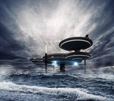 The Deep Ocean technology underwater hotel planned for Dubai can withstand the most adverse weather conditions!