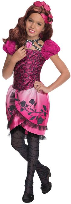 Ever After High - Briar Beauty Girls Costume from BirthdayExpress.com