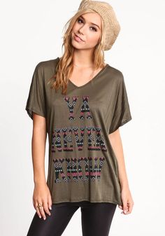 Never Know Tribal Tee