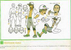 Professor Kukui Concept Art
