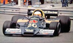 Jody Scheckter WOLF WR1 Ford Cosworth