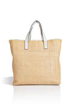 83300ce165d6 Nevis Pindard Straw Shopper from ANYA HINDMARCH