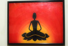 A personal favorite from my Etsy shop https://www.etsy.com/listing/266600291/meditating-buddha