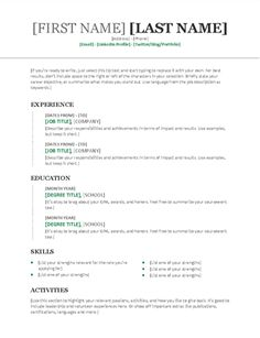 Templates Resumes And Cover Letters Simple Letter Sample Latter