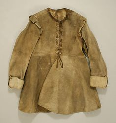 Coat, 1630-40, leather (British) Metropolitan Museum