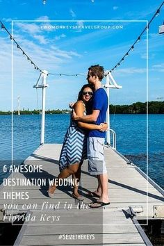 As we're getting married in December 2016, we have marriage, weddings and romance on the brain, so we have dedicated our final year before marriage to our Pre-Wedding Bucket List and wedding inspiration! As soon as we arrived in Key West and every moment after that throughout the Florida Keys, we started talking about how it would be the perfect location for a destination wedding. #WeddingDestinations #FloridaKeys #TwoMonkeysTravelGroup