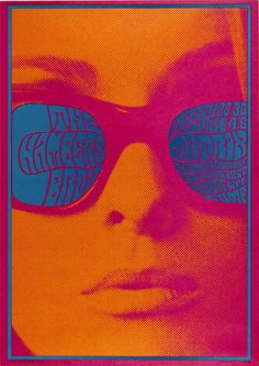Victor Moscoso, The Chambers Brothers, 1967, color lithograph, Smithsonian American Art Museum, Gift of Leslie, Judy and Gabri Schreyer, and Alice Schreyer Batko -Emma, intern