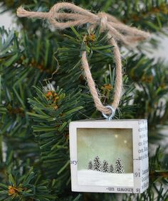 Love this All the Little Trees Ornament on #zulily! #zulilyfinds