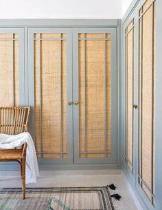 Wardrobe Design Bedroom, Bedroom Decor, Master Bedroom, Home Interior Design, Interior Architecture, Door Design, House Design, Furniture Makeover, Furniture Design