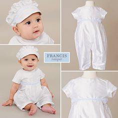 Francis Silk First Birthday Romper from One Small Child