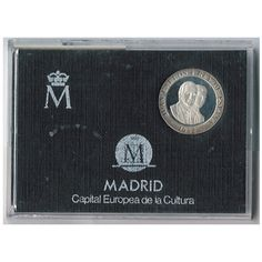 (1992) estuche 200 ptas.  plata