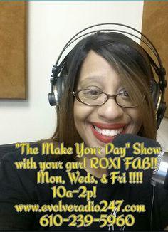 Tune in!! Radio Personality