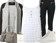 Freizeitoutfit mit Sneakers ♥ http://stylefru.it/s86056