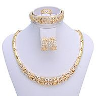 WesternRain Women's chinoiserie vintage-inspired Gold-plated  Jewelry Set. Get superb discounts up to 80% Off at Light in the Box using coupon and Promo Codes.