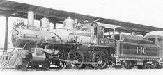 KCS 4-4-0 #140 in 1932.