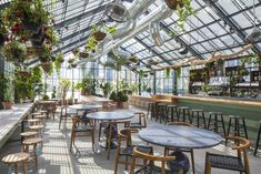 Greenhouse Eating at the Ace Hotel, LA