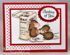 Stamping & Scrapping in California #stampendous #house mouse