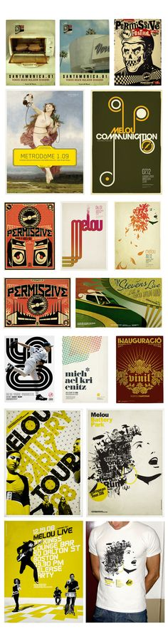 POSTERS by Mark Brooks, via Behance