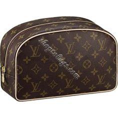 3320325b918 Louis Vuitton Monogram Canvas Toiletries Bag 25 M47527 Replica Handbags,  Authentic Louis Vuitton, Toiletry