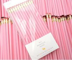 #cute #pinkpencils #preppy