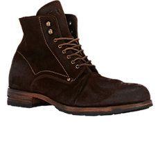 Wrinkled-Vamp Boots