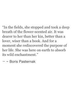 boris pasternak // the purpose of her life.