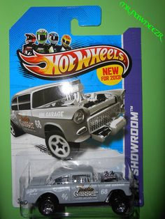 2013 Hotwheels '55 CHEVY BEL AIR GASSER