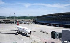 ZRH Zurich Airport with a plane from @flyswiss