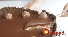 Nepečená torta Ferrero Rocher, ktorej neodoláte