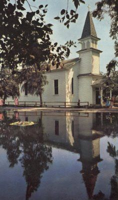 Knotts 1950's | the church of reflections is still at knot s /  wel, I was 13 and got my first kiss in this chapel.. Sweet memory