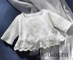 Baby Knitting Patterns Girl crochet dresses on Stylowi. Crochet Girls, Crochet Baby Clothes, Crochet For Kids, Free Crochet, Knit Crochet, Crochet Dresses, Knitted Baby, Crochet Pattern, Baby Knitting Patterns