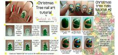 Easy-Simple-Christmas-Tree-Nail-Art-Tutorials-2013-2014-For-Beginners-Learners