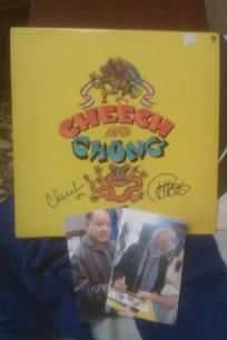 Cheech & Chong LP Album Duel Signed W/Album & Proof Pics. *Free Shipping* http://yardsellr.com/yardsale/Erik-Marx-416944