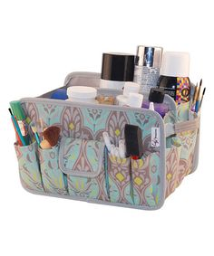 Another great find on #zulily! Damask if You Do Catch All Caddy #zulilyfinds