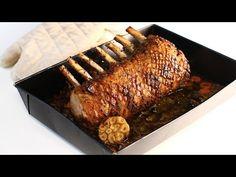 Cotlet de porc – pork rack – la cuptor, rețetă video - Retetele Zilei