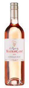 Bordeaux Weine | Le Rosé de Mouton Cadet 2013 | Aromen: Kandierte Früchte, Quitte und rote Beeren im generösen Bouquet. Straffer Fruchtgeschmack mit fokussierter Säure und frischer Aromatik. Würziges Finish. #Wein #Bordeaux #Rosé