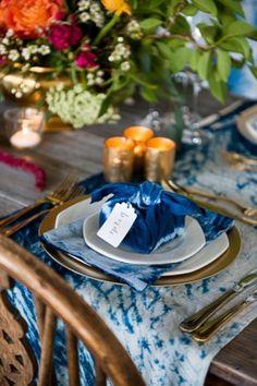 Shibori Wedding Inspiration