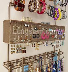 DIY Jewelry Organizer Home Ideas Pinterest Diy jewelry