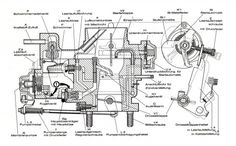 wiring diagram vw beetle sedan and convertible 1961