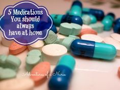 5 Medications you should always have at home