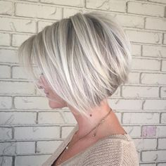 "854 Likes, 37 Comments - Rochelle • Hair Artist (@rochellegoldenhairstylist) on Instagram: ""Another shot of yesterday's icy bob. Happy Thursday IG! Create something beautiful today❤️"""