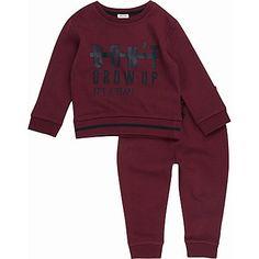 Mini boys red jogger set £22.00